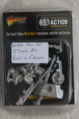 Warlord Games 28mm WGB-AI-30 US Army 57mm AT Gun & Crew